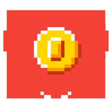 Heart coin.