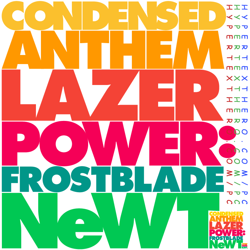 Condensed Anthem Lazer Power: Frostblade NeWT