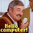 Hello, computer!